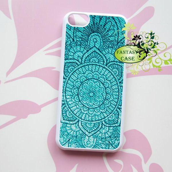 Green Mint Bohemian Style, iPhone 6+ plus Case, iPhone 6s+ plus Case, iPhone 6 Case, iPhone 6s Case, iPhone 5 Case, iPhone 5s Case, iPhone 4, iPhone 4s Case, iPhone 5C, Galaxy S6, Galaxy S6 Edge, Note 3, Note 4, Note 5, Phone Cases
